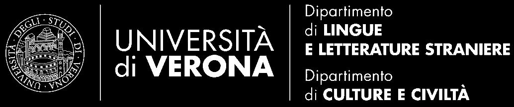 Logo Università di Verona dipartimento di lingue e letterature straniere e dipartimento cultura e civiltà